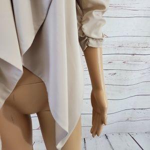 Poetry Jackets & Coats - Poetry Open Front Blazer Cardigan M